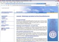 sananet - Webdesign im Gesundheitswesen
