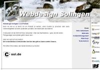 Webdesign Solingen C-ool Pentzek Webdesign