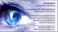 Art2Digital.com Internet Marketing, CD-ROM/DVD Pub Webdesign