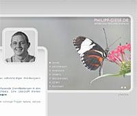 Philipp Giese - Freelancer für Webdesign in Berlin Webdesign