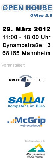 Office 2.0! - Unit Office in Mannheim