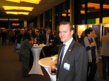 Sebastian Lange beim 3.Stiftertag  der Metropolregion