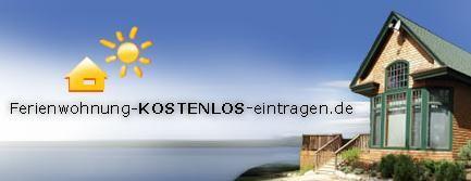 Logo - Ferienwohnung kostenlos eintragen