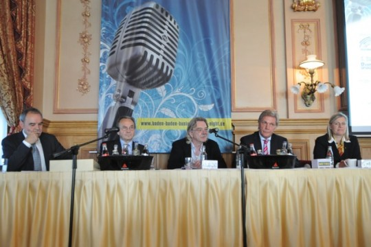 Pressekonferenz Baden Baden