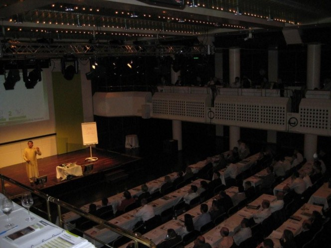 Internetmarketing-Vortrag von Sanjay Sauldie in der alten Oper in Frankfurt