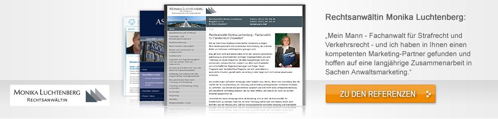 McGrip - web excellence - nachhaltige Webkonzepte für  Anwälte, Ärzte und Spezialanbieter - header-luchtenberg-110714-0