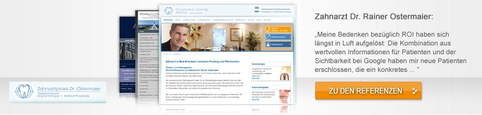 McGrip - web excellence - nachhaltige Webkonzepte für  Anwälte, Ärzte und Spezialanbieter - header-ostermaier-110714-01
